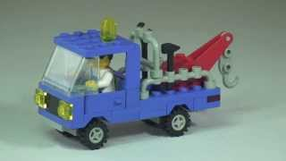 LEGO Vintage Review Tow Truck set 6656 from 1985