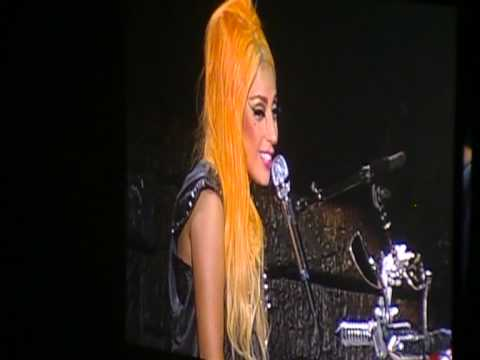 Lady Gaga RESPONDS TO MADONNA & talks about equality (HD) - Born This Way Ball - NEW ZEALAND Fri 8th
