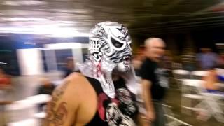 Mr.450 vs Pentagon Jr MLLW Memphis Lucha pro wrestling