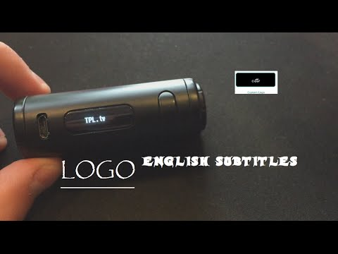How to make your LOGO on Eleaf iStick Pico (ENGLISH SUBTITLES)