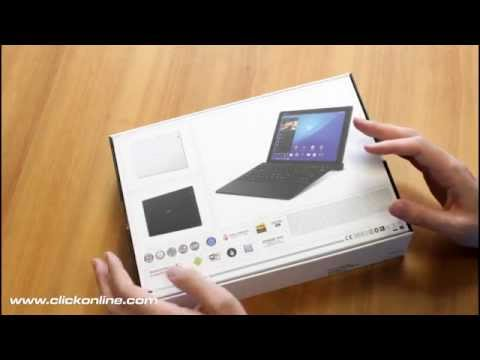Sony Xperia Z4 Tablet unboxing