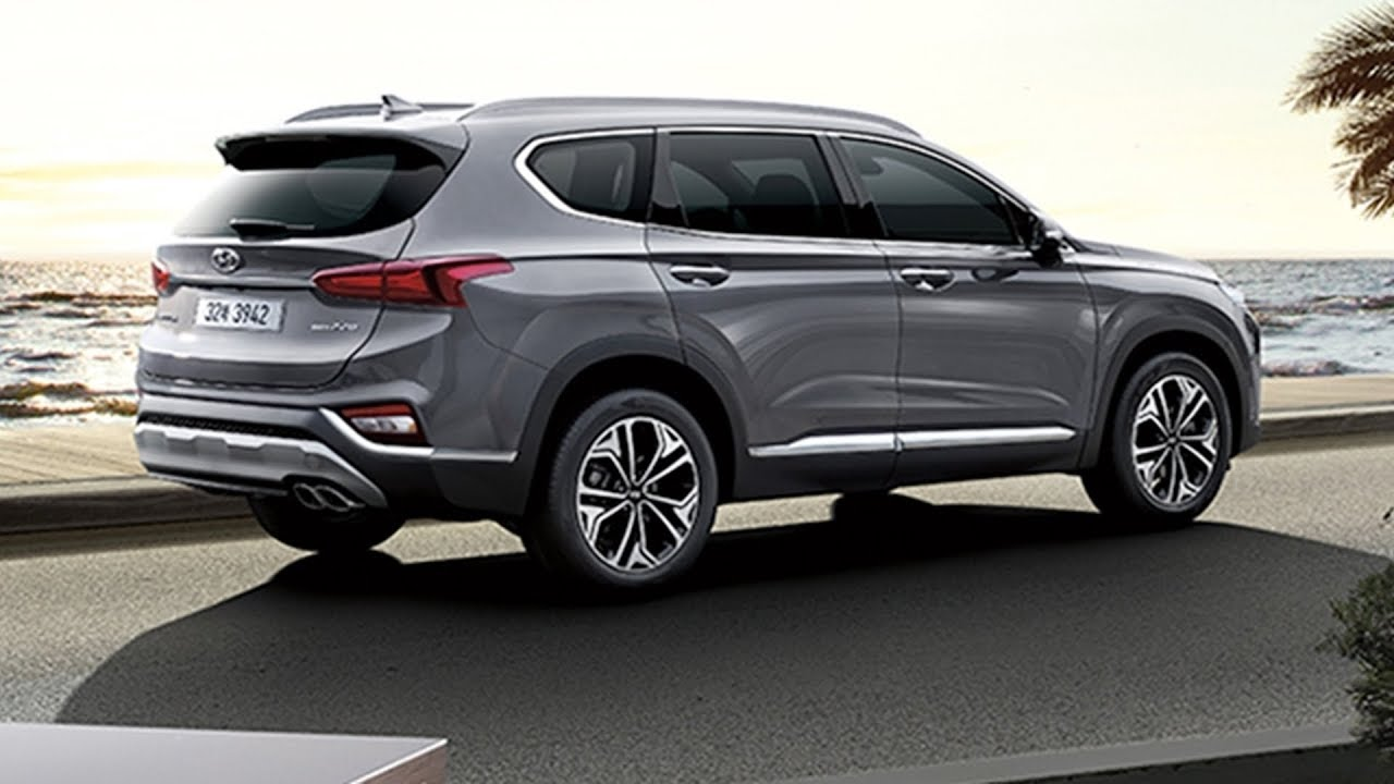 2019 hyundai santa fe interior exterior youtube. Black Bedroom Furniture Sets. Home Design Ideas