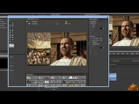دورة Adobe Premiere Pro CS6 ـ طريقة الكتابة الدرس 12