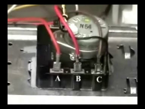 hqdefault timer replacing ge electric dryer youtube ge electric dryer wiring diagram at soozxer.org