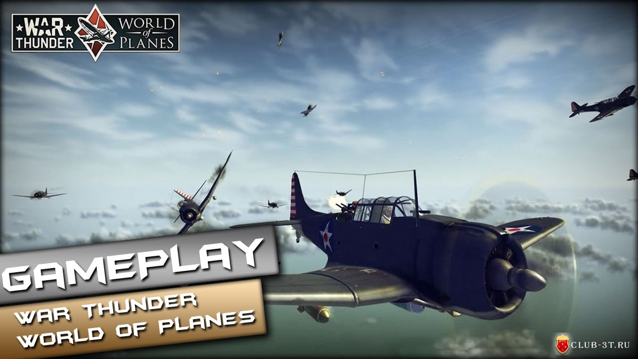 War Thunder World of Planes Gameplay PC HD  1080p  - YouTube