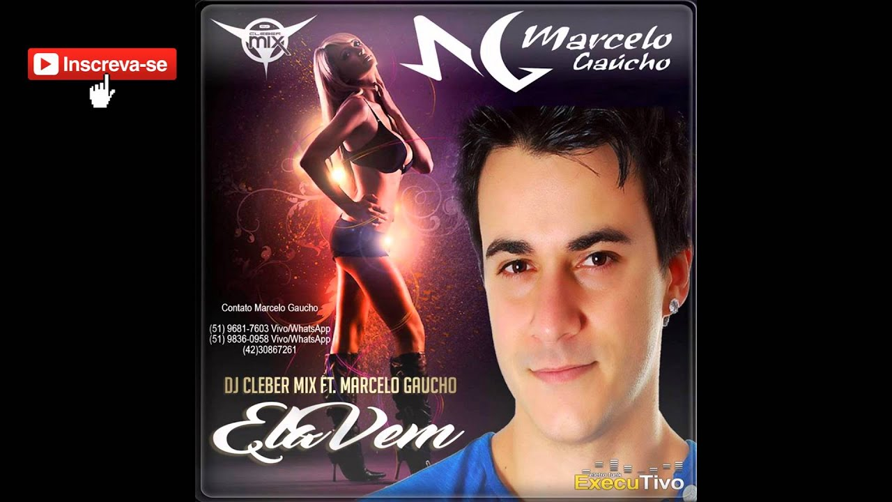 Dj Cleber Mix Ft Marcelo Gaucho - Pop Goes World ( Remix Men Without Cover )