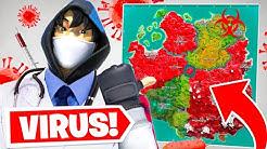 Ich spiele Fortnite mit einem Virus.