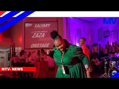 Zaza Afanya Surprise Katika Mkesha Wa Weekend Worship,