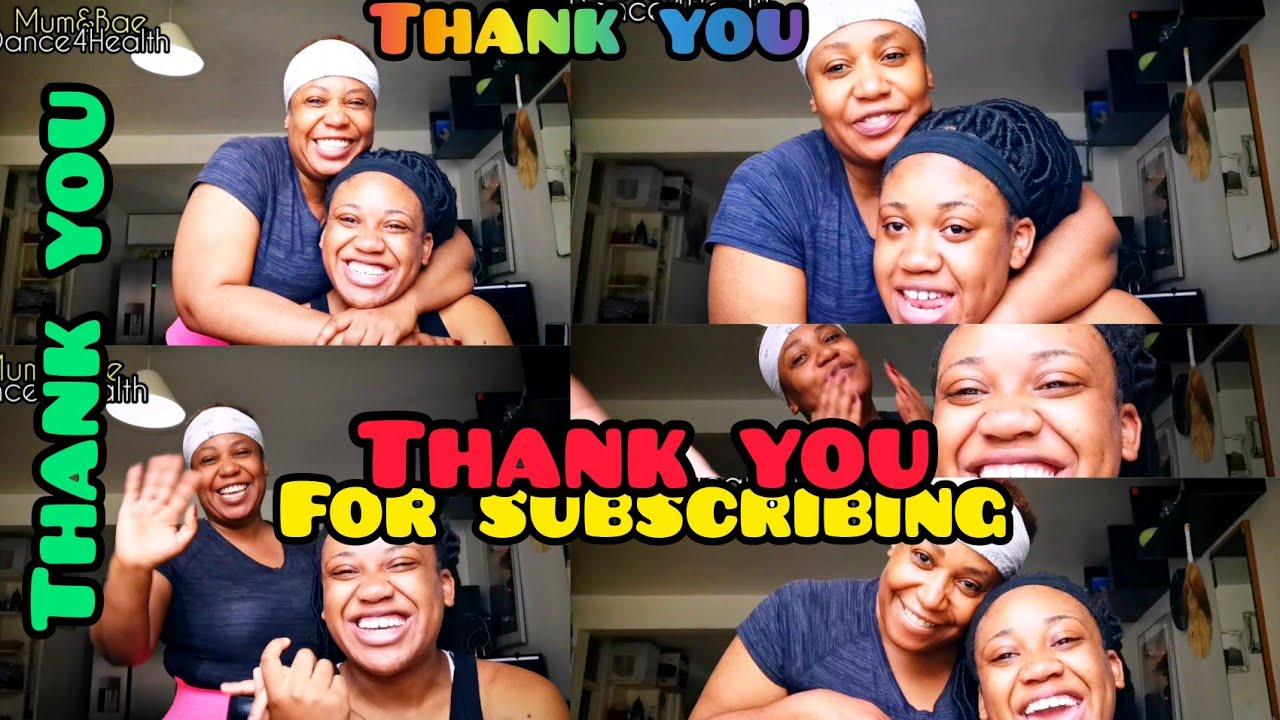 You are special to us - Thank You - Mum&Bae Dance4Health
