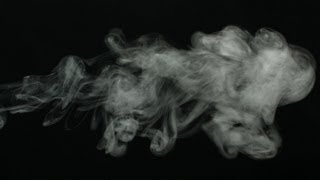 Free Slow Motion Footage: Wispy Smoke Blowing