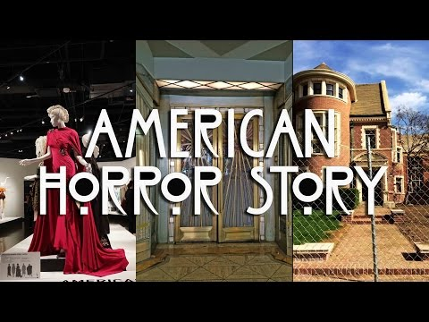 American Horror Story Hotel andHouse Tour Los Angeles Locations