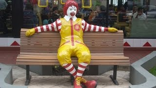 McDonald's suspends Ronald over 'creepy clown sightings'