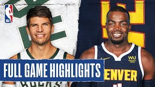 BUCKS at NUGGETS | FULL GAME HIGHLIGHTS | March 9, 2020