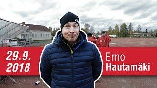 Haastattelussa Erno Hautamäki