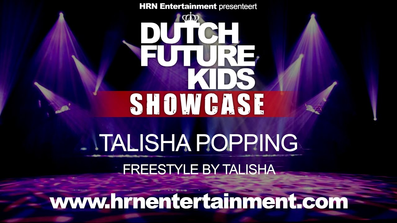 Dutch Future Kids Showcase 2017 | Talisha Popping | Talisha Nicolaas