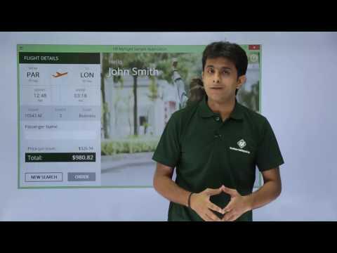 HP UFT/QTP - HP MyFlight Sample Application