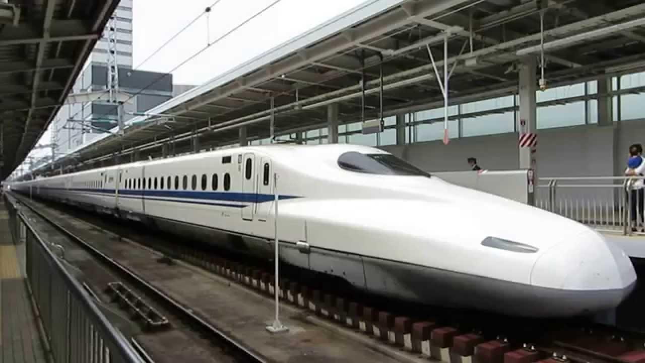 【駅撮】N700系N1のぞみ16號新大阪出発&700系B12ひかり466號新大阪 ...