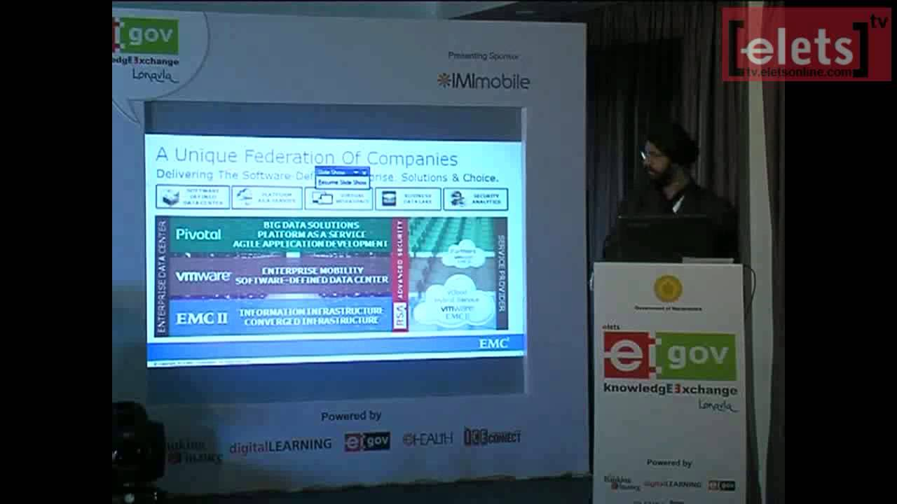 Elets Knowledge Exchange Lonavla Ripu Bajwa Director Emc Data Storage Systems India Pvt Ltd