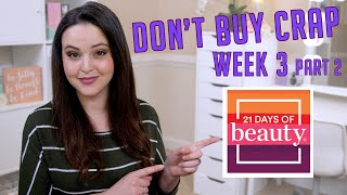 Is Your Skincare TOXIC? For real! OMG! 21 days of beauty Ulta spring 2020 week 3 part 2