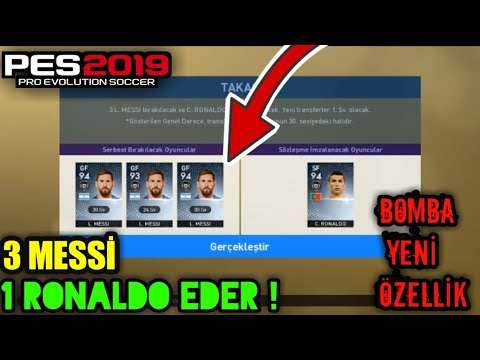 EN EFSANE YENİLİK !! PES 19 MOBİLE ! HOW CARD TRADİNG - TAKAS