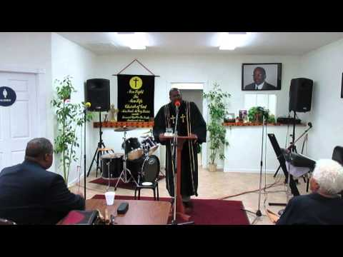 Rev. Harris Sings I Will Trust In The Lord Until I Die Old Time Spiritual