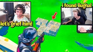 TFUE & CLOAKZY *GRIEF* PROS in TOURNAMENT! (Fortnite Trios)
