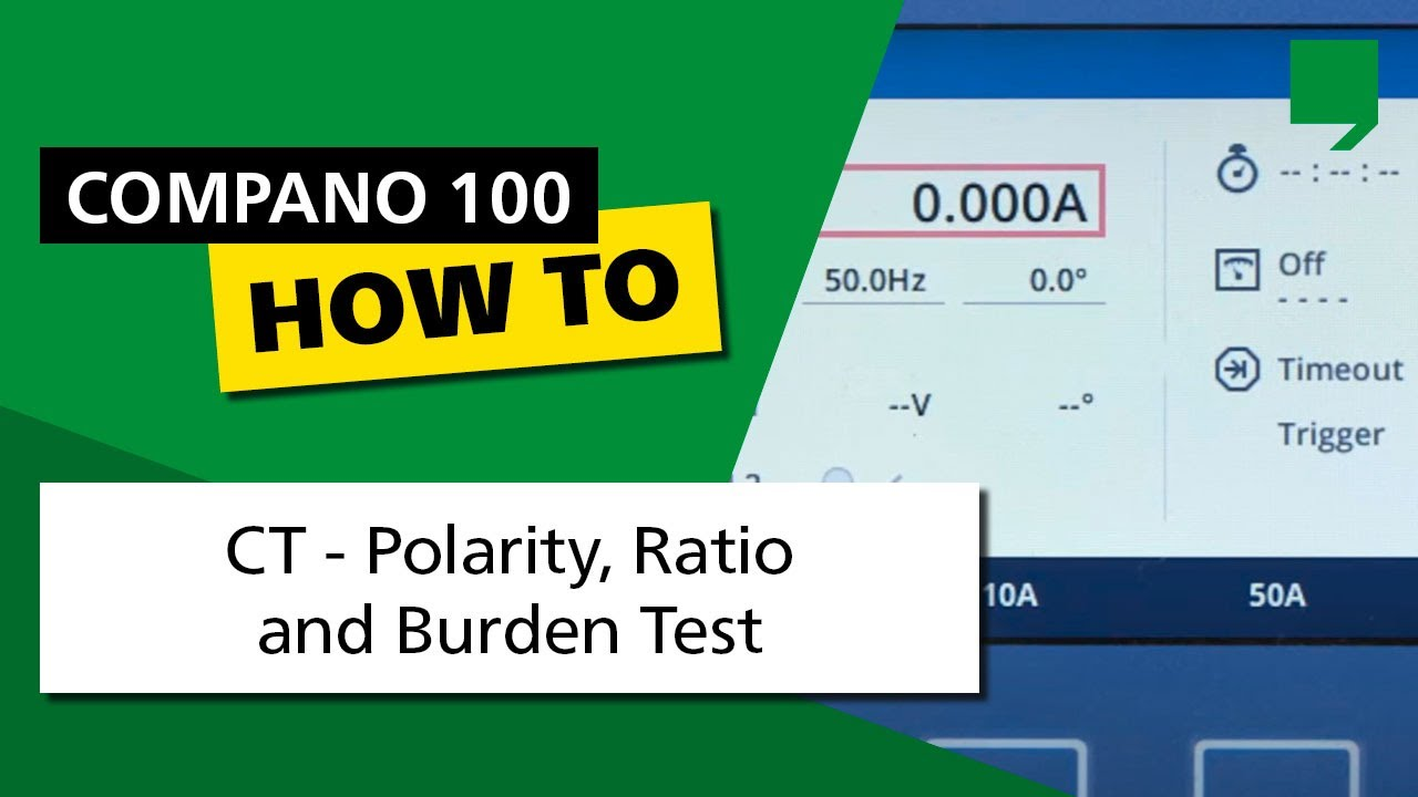 Compano 100 do it yourself tutorial 04 ct polarity ratio and compano 100 do it yourself tutorial 04 ct polarity ratio and burden test solutioingenieria Image collections