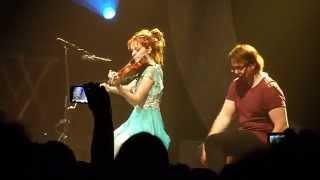 Lindsey Stirling - Transcendence (Acoustic) - Prague 2014