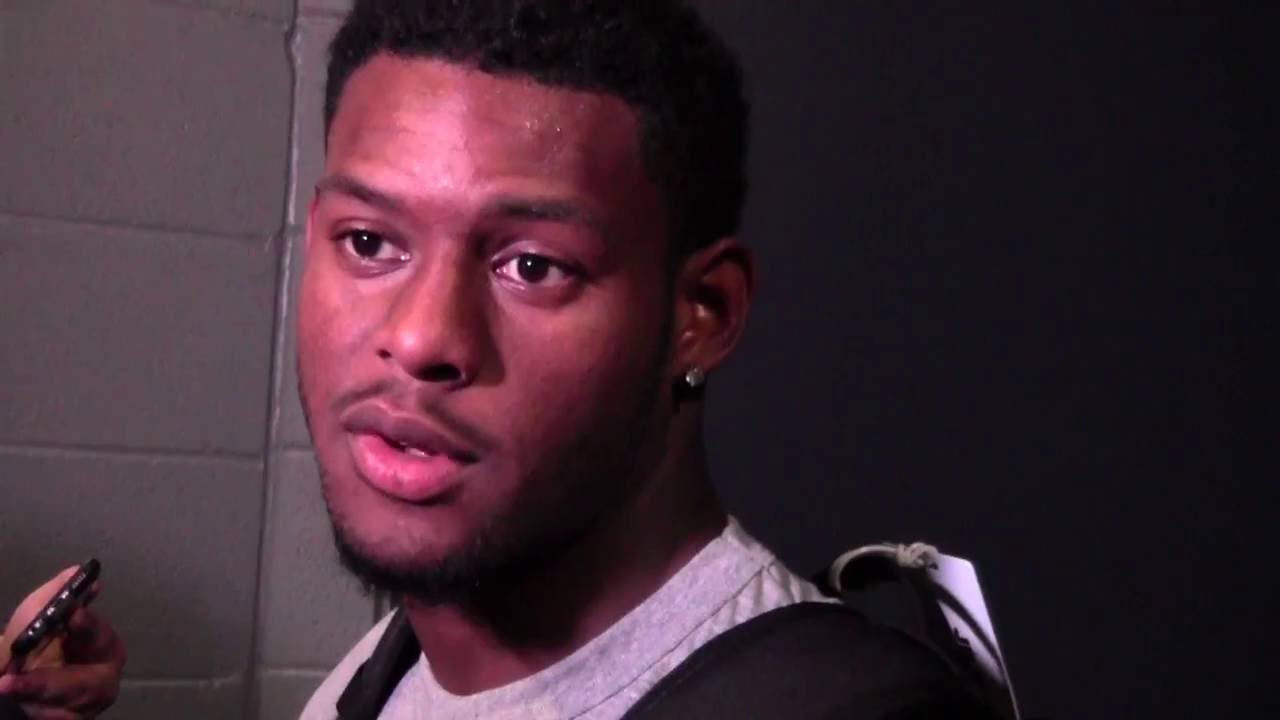 Juju Smith Schuster >> Juju Smith-Schuster Interview after USC vs Alabama 2016 - YouTube