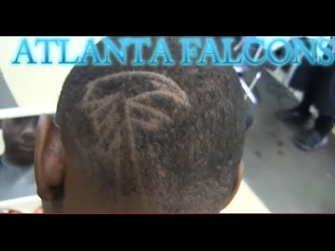 How To Hair Design Tutorial Falcon W Stencil Mens Hairstyles