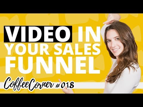 Video in Your Sales Funnel! | Coffee Corner 018 | Video Marketing Insights
