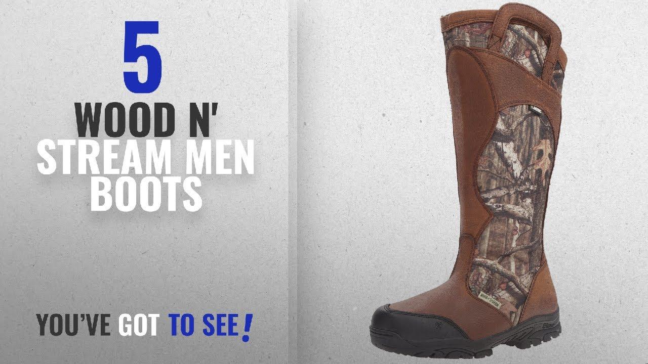 Top 10 Wood N' Stream Men Boots [ Winter 2018 ]: Wood n' Stream Men's Snake  Bite 17