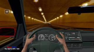 Test Drive Unlimited - Vw Golf 2 GTI / VR6 Tunnel Fun HD