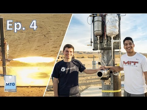 Firing a Rocket Engine! A Day in the Life of an MIT Aerospace Engineering Student Ep.4