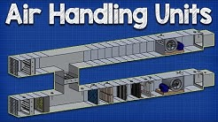 How Air Handling Units work   AHU working principle hvac ventilation