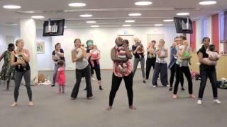 Dance exercise with my baby - Mafikizolo- Ndihambanawe