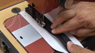 Piping & Zippers - Ultrafeed LS-1 Sewing Machine - Part 5