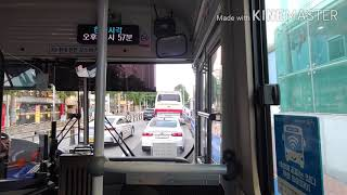 부산51번(장전1치안센터~장전초등학교)까지주행영상