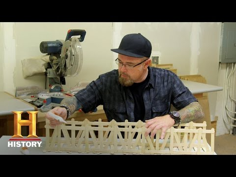 Smartest Guy in the Room: Randy's Build-a-Bridge Challenge | History
