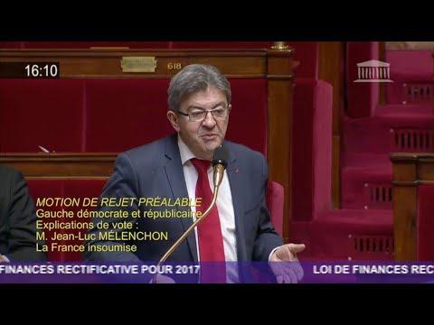 «C'EST AUX GRANDES ENTREPRISES DE PAYER L'ARDOISE» - Mélenchon