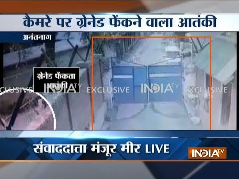 Exclusive CCTV footage: Terrorists hurl grenade at Army camp in J&K's Anantnag, 5 jawans injured