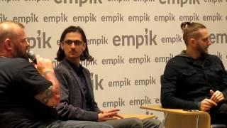 Riverside i Maurycy Nowakowski w Empiku Junior w Warszawie 22.11.2016 roku