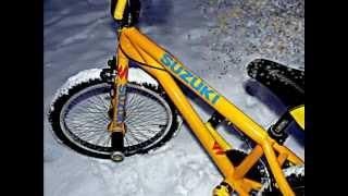 перетяжка аэрография велосипеда