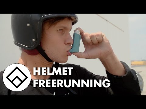 Helmet Freerunning - The Safety Boss | Team Farang