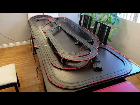 Monster AFX slot car track.