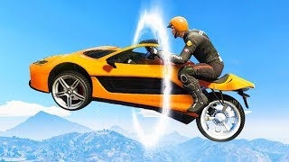 BRAND NEW TRANSFORMER RACES! (GTA 5 Races)