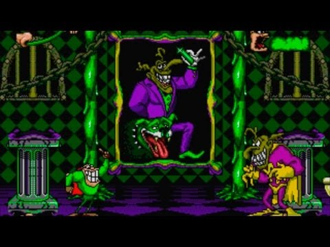 Boogerman (Genesis) All Bosses (No Damage)