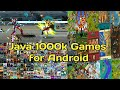 How to download Java 1000k Games for Android Games link in Description