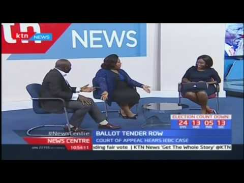 Court of Appeal hears IEBC's Ballot Paper Printing Tender Row: News Centre pt 1