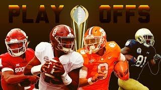 2018 College Football Playoff Hype